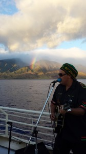 The Rainbow watching Marty Dread Rocking the Cruise
